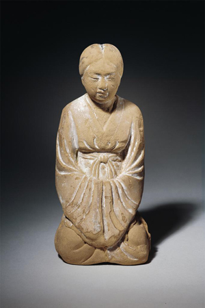 Kneeling Woman, Nara period, 8th century